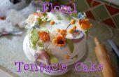 Torta floral tentáculo