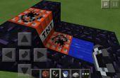 Minecraft Pocket Edition TNT cañón