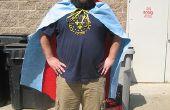 Cómo hacer una capa de superhéroe
