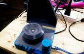 3D impreso DIYbio mini centrífuga