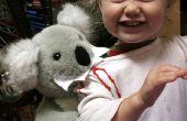 Traje de niño de ataque de Koala vicioso