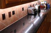 Construir bajo contador de iluminación LED que las rocas!