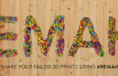 Hacer nuevo filamento de vieja 3D-impresiones (reciclaje)