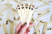 Popsicle Stick cartas
