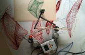 Edificio Drawbot con LEGO