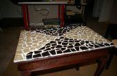 Roto de azulejo de mesa