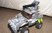 Coche LEGO Halo Warthog (ish), acorazado con Suspension
