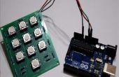 Creando una resistencia base de teclado y la interfaz con Arduino!