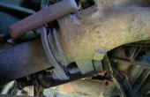 Brida de escape reparar/reemplazar el convertidor catalítico (camioneta ford 91)