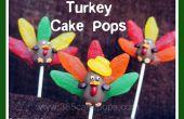 Turquía Cake Pops