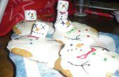 Derretir muñecos de nieve galletas