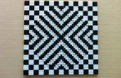 Mosaico de ilusión óptica de LEGO