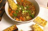 Manera rápida y fácil de ajo, hierbas y pan de parmesano - Yum