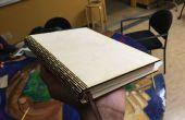 Cubierta de libro de madera