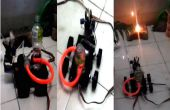 Hacer un barato Robot del combate de fuego en casa.