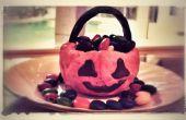 Arroz Krispies calabaza recipiente dulces