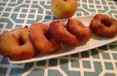 Manzana canela anillo donas