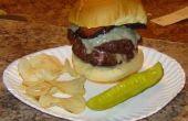 Relleno de hamburguesa con queso