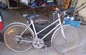 Cómo arreglar una bici antigua