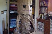 GROOT-baile de disfraces de bebé Groot (todo el papel del traje barato)