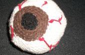 Crochet el globo ocular gigante - Brown Iris