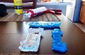 Hacer moldes con tubos de silicona