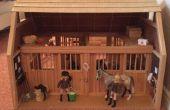 Cómo decorar un establo de caballos Breyer