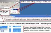 Cómo imprimir rápidamente la lista de archivos en una carpeta de Windows