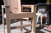 Barra de altura Adirondack sillas de madera