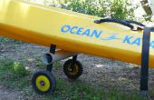 Carrito kayak plegable sencillo en 20 minutos