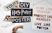 Cartel de Harry Potter DIY