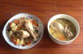 Estofado de pollo, estilo Babushka