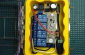 Conectado controlador de riego accionado por Afero
