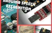 Reconocimiento, Arduino de voz