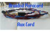 Trenzado de Cable de Paracord auxiliar (Aux cable)