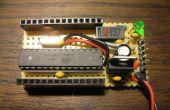 Factor de forma pequeño Arduino DIY sobre placa perforada