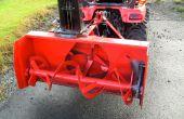 Instalación de Máquina removedora de nieve en el tractor Kubota BX