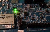 Conexión de sensores de Edison de Intel a la nube
