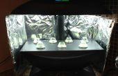 DIY Aerogarden Reflector potencia - aumentador de presión crece la luz