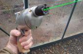 Steampunk radio pistola