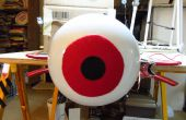 Arduino enorme Animatronic LED globo ocular