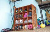 El zapato Keeper AKA zapato organizador reductor /Clutter