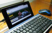 Ratón y teclado para Tablets (Nexus 7)
