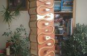Cajones de Sierra de cinta del estante de la especia
