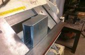 Metal caja de herramienta de doblez en Techshop.ws