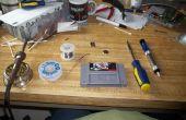 Reemplazar una CR2032 batería del carro de la snes