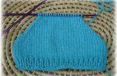 Cómo reducir perfectamente para formar la forma del hombro costuras en las mangas de punto