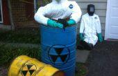 Crear a víctimas de fusión nuclear de los decorados de Halloween.