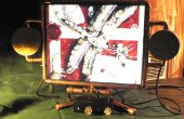 Steampunk Monitor de Miss Betsy