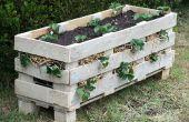 Cómo hacer una jardinera de plataforma mejor de fresa